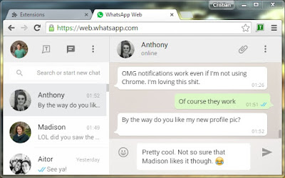 WhatsApp on Web
