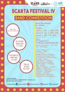 Lomba Kompetisi Band di FK Universitas Negeri Semarang 2016