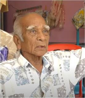 Bekas ketua kampung Mohamad Ali, 80,  telah tinggal disini sejak tahun 1979