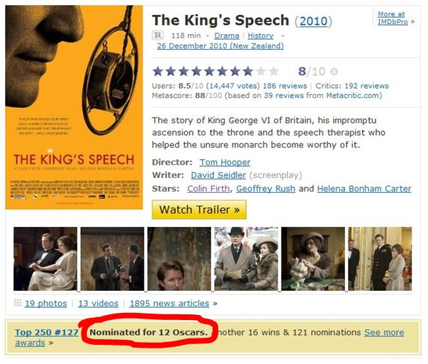 Cinematic Paradox: Oh my, haven't your IMDb profiles changed a bit?