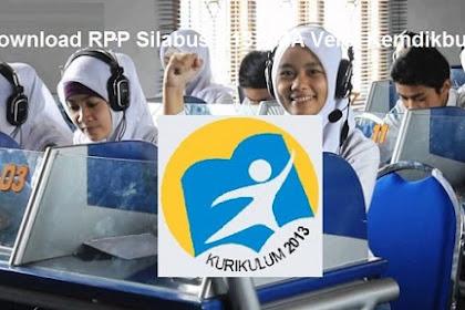 Download RPP Silabus K13 SMA Versi Kemdikbud