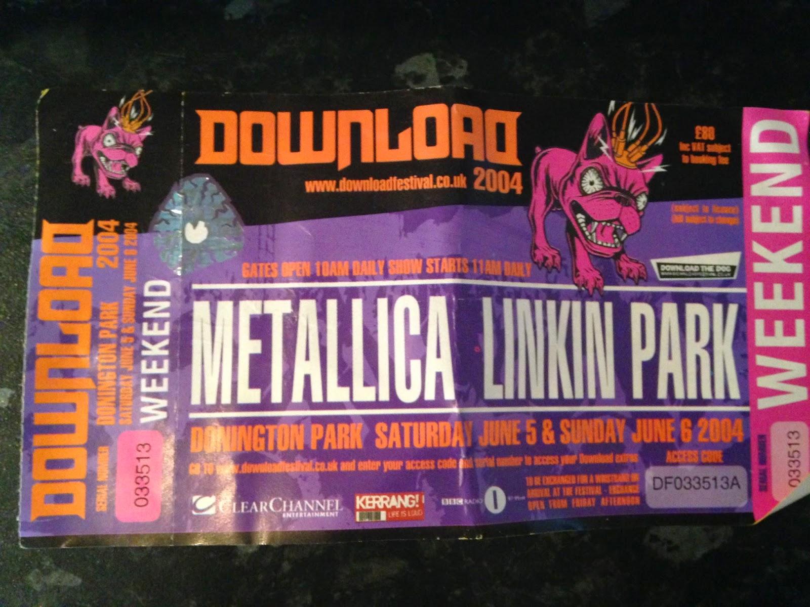 Daniel Cure - The Official Author's Blog: Download Festival