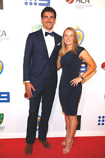 Mitchell Starc, Biography, Profile, Age, Biodata, Family , Wife, Son, Daughter, Father, Mother, Children, Marriage Photos.