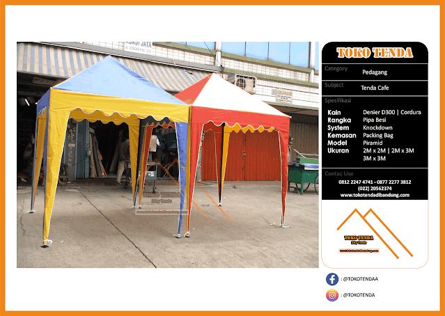 Tenda - Cafe - Pedagang