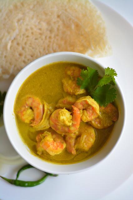 Shrimp green curry recipe