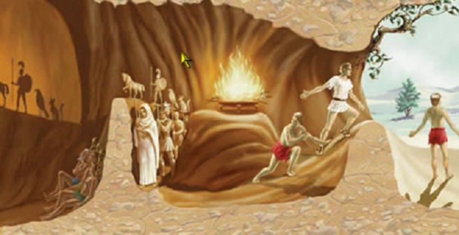 Το σπήλαιο του Πλάτωνα με άλλη ματιά