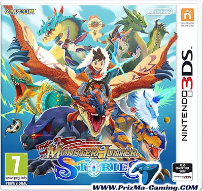 Download Monster Hunter Stories 3DS Decrypted ROM for Citra Nintendo 3DS | PrizMa Gaming