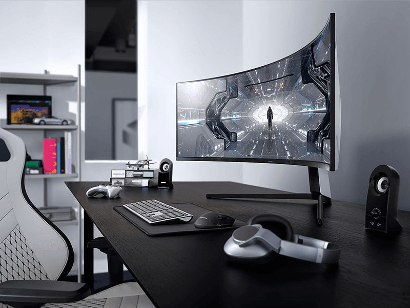 Stunning curved gaming monitor