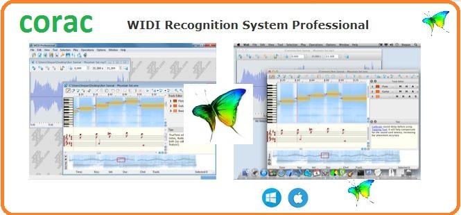phần mềm widi chuyển mp3 sang midi