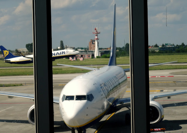 Ryan Air in Bologna Airport