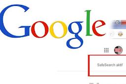 Settings mesin pencari Google aman buat anak-anak