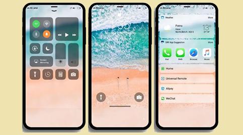 Tema iOS 12  MIUI 11 Tembus Semua Aplikasi