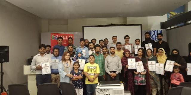 Outstanding Workshop was Conducted by Respected Sir Shahid Qureshi ( Motivational Speaker, Trainer and Life Coach).