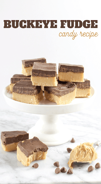 Buckeye Fudge Candy Recipe