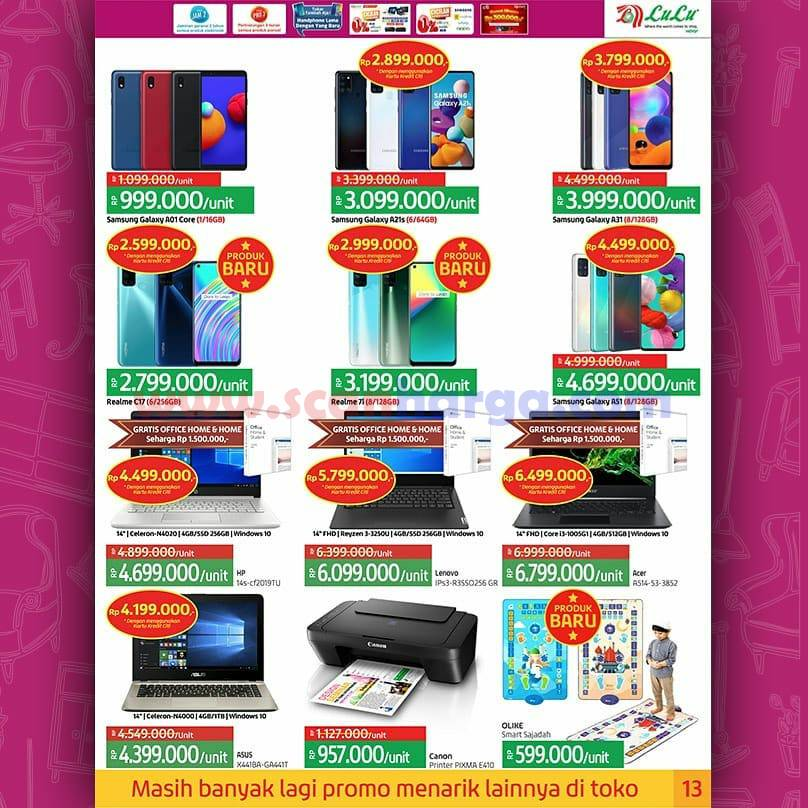 Katalog Promo LULU Supermarket 12 - 25 November 2020 13