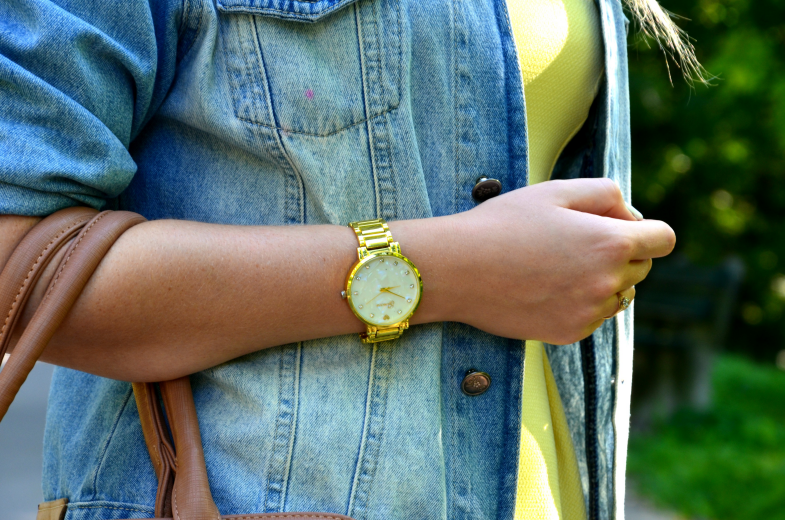 SUMMER YELLOW DRESS & DENIM JACKET ♥
