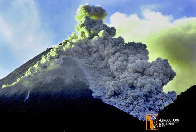 Gambar Letusan Gunung Merapi (Jawa Tengah)