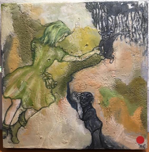 Lotte Horne, maleri