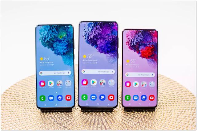 Spesifikasi Galaxy S20, S20 Plus dan S20 Ultra vs. Galaxy S10 dan S10 Plus