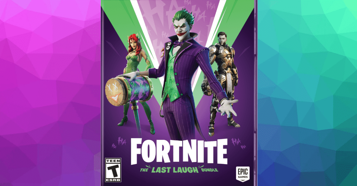 Warner Bros. Games, Epic Games and DC Launch Fortnite: The Last Laugh Bundle Today
