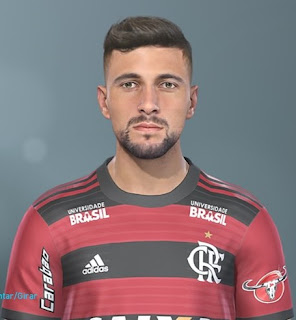 PES 2019 Faces Giorgian De Arrascaeta by Lucas Facemaker