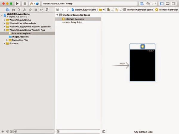 التعرّف على نظام التصميم watchkit