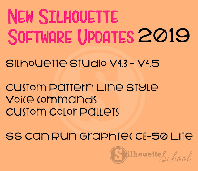 silhouette studio, Graphtec, silhouette design studio, custom color, software updates
