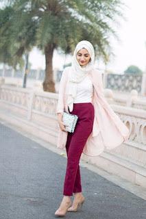 Baju atasan muslim modis untuk remaja