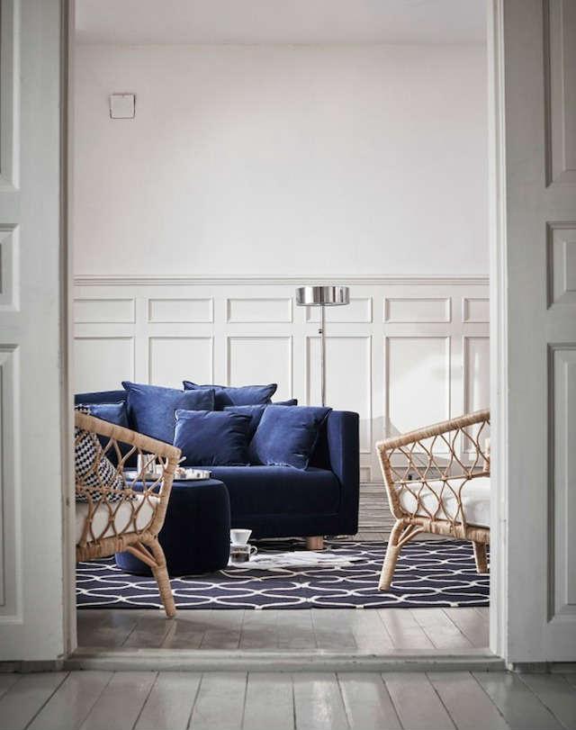 colección Ikea Stockholm 2017, sofá y sillones