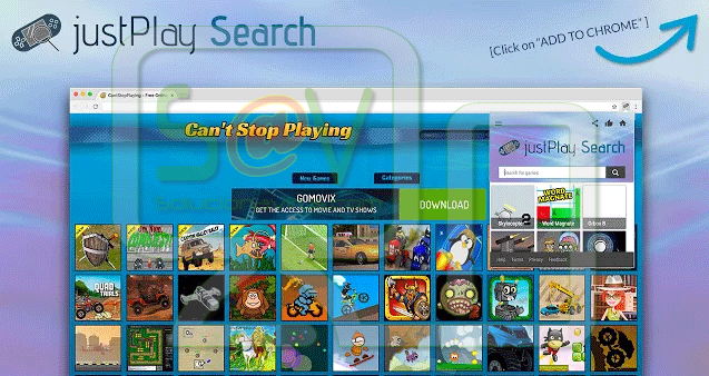 JustPlay Search (Adware)