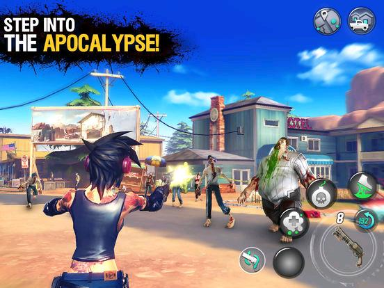 Yay! Gameloft's new zombie shooter, Dead Rivals - Zombies, finally launches on mobile device