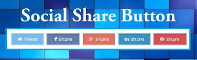 Cara Membuat Tombol Social Share Button di Blog