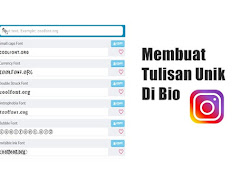 Cara Membuat Tulisan Unik di Bio Instagram