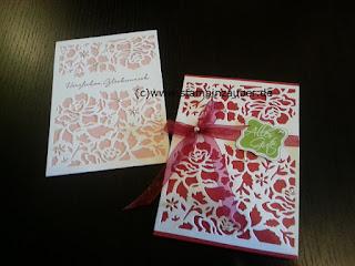 Florale Grüße Florale Fantasie Glückwunschkarte von Silvi Provolija Unabh. Stampin' Up! Demonstratorin aus Jena Thüringen