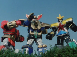 Power Rangers Zeo Zords Super Megazord Red Battlezord Mecha