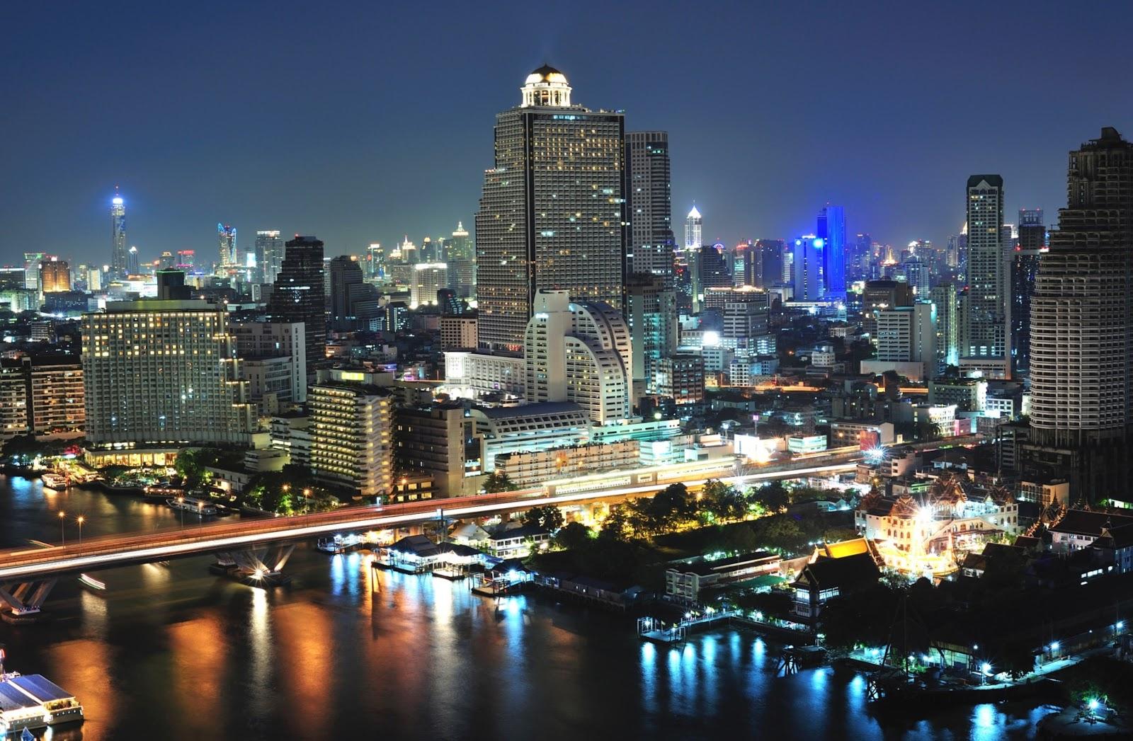 ... Bangkok กรุงเทพฯ . A voyage to Bangkok, Thailand