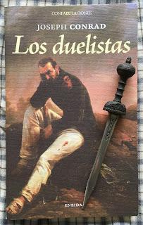Portada del libro Los duelistas, de Joseph Conrad