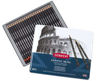 review of derwent graphite pencils for drawing sketch