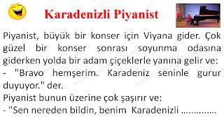 Karadenizli Piyanist - Karadeniz Fıkraları - Komikler Burada