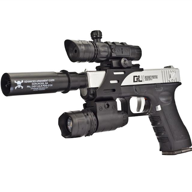 Súng lục Glock bắn đạn thạch_5