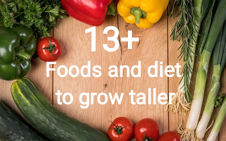 13 Foods And Diet To Increase Height Naturally