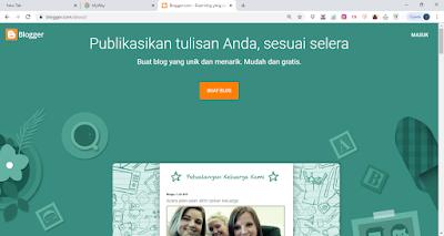 tutorial blog blogger pemula