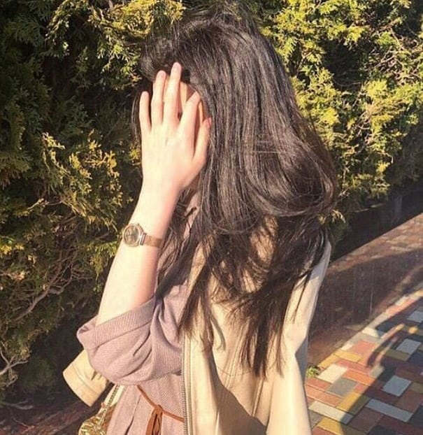Stylish Girl Hide Face DP for Profile Picture 2021
