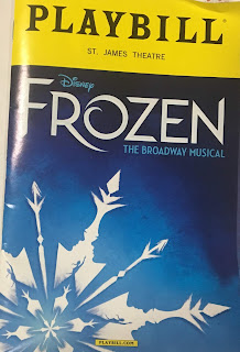 Frozen Playbill