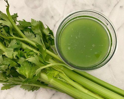 Manfaat jus seledri dapat mencegah kanker