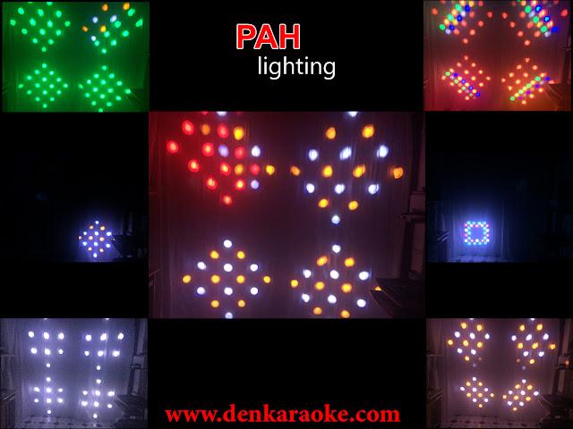 Đèn LED sân khấu với nhiều tính năng trình diễn thông minh, sẽ tạo ra nhiều hiệu ứng ma trận.
