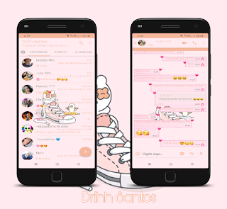 Alone Shoes Theme For YOWhatsApp & Fouad WhatsApp By Leidiane