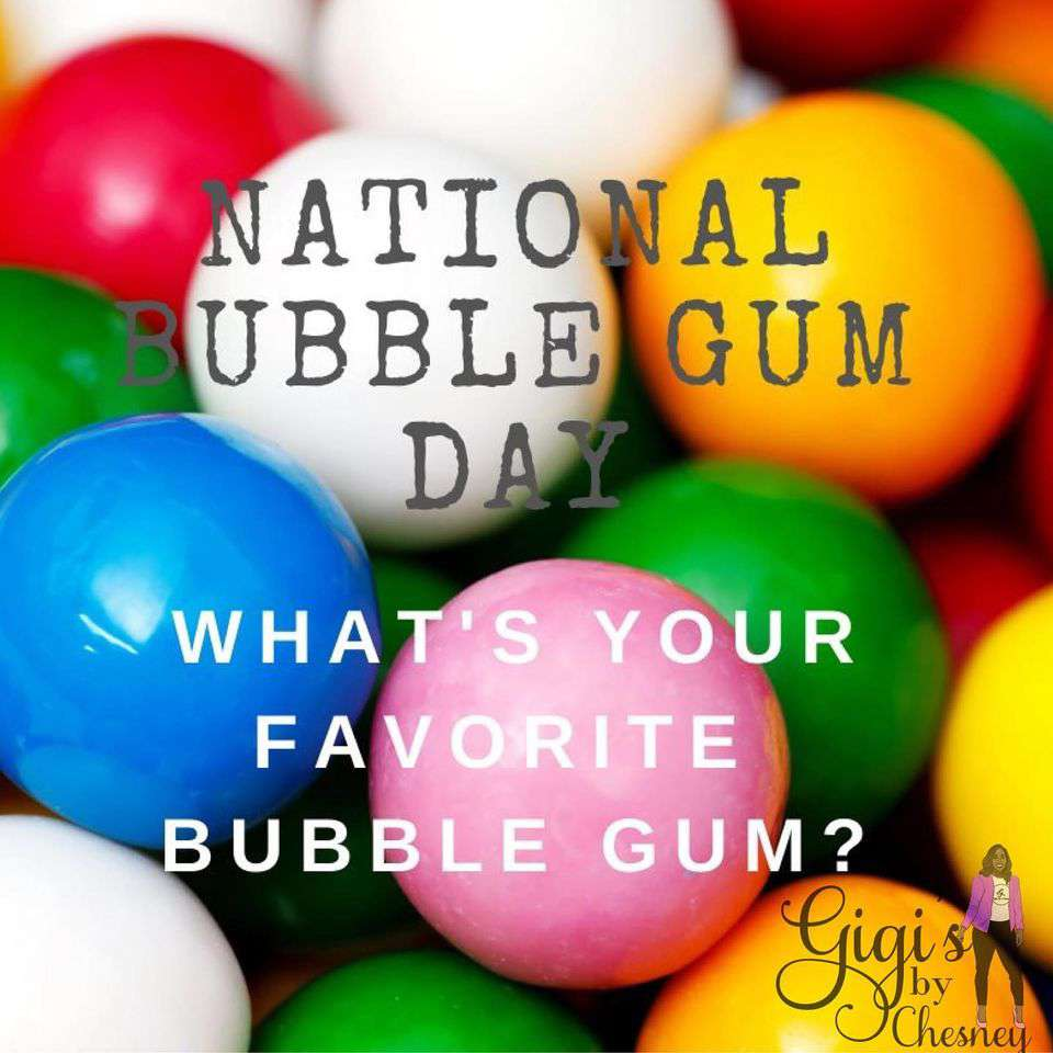 National Bubble Gum Day Wishes for Instagram