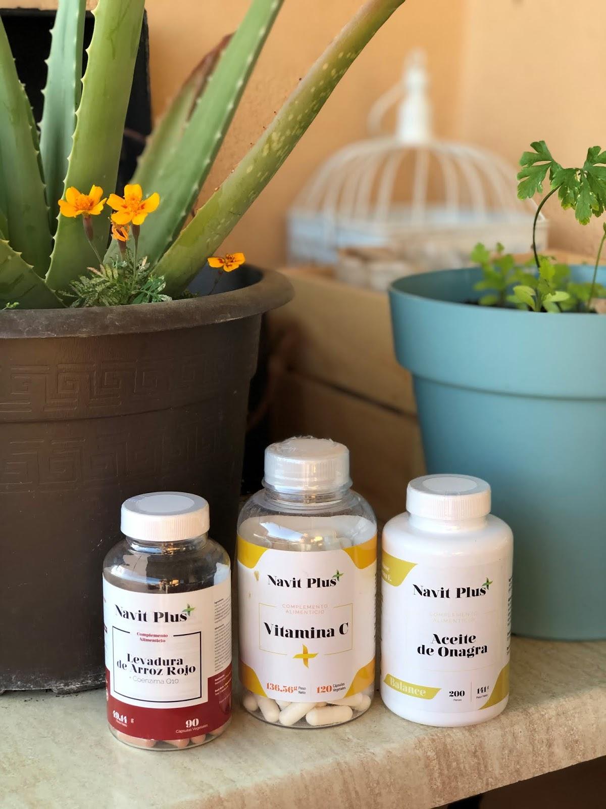 Fitness And Chicness-Suplementos Navit Plus Vitamina C Onagra y Levadura Arroz Rojo-1