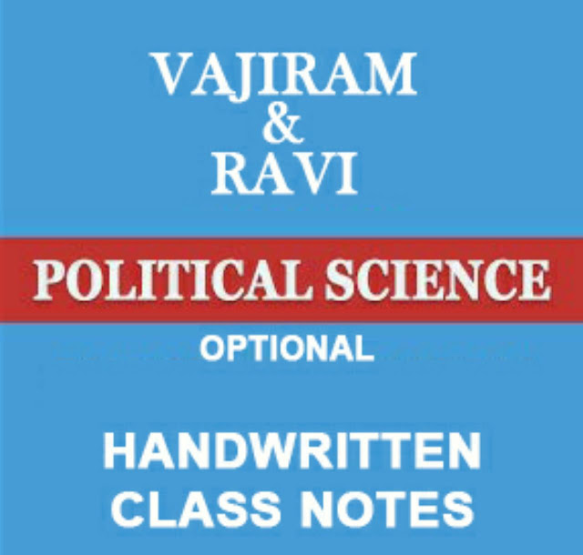 UPSC Political Science Notes